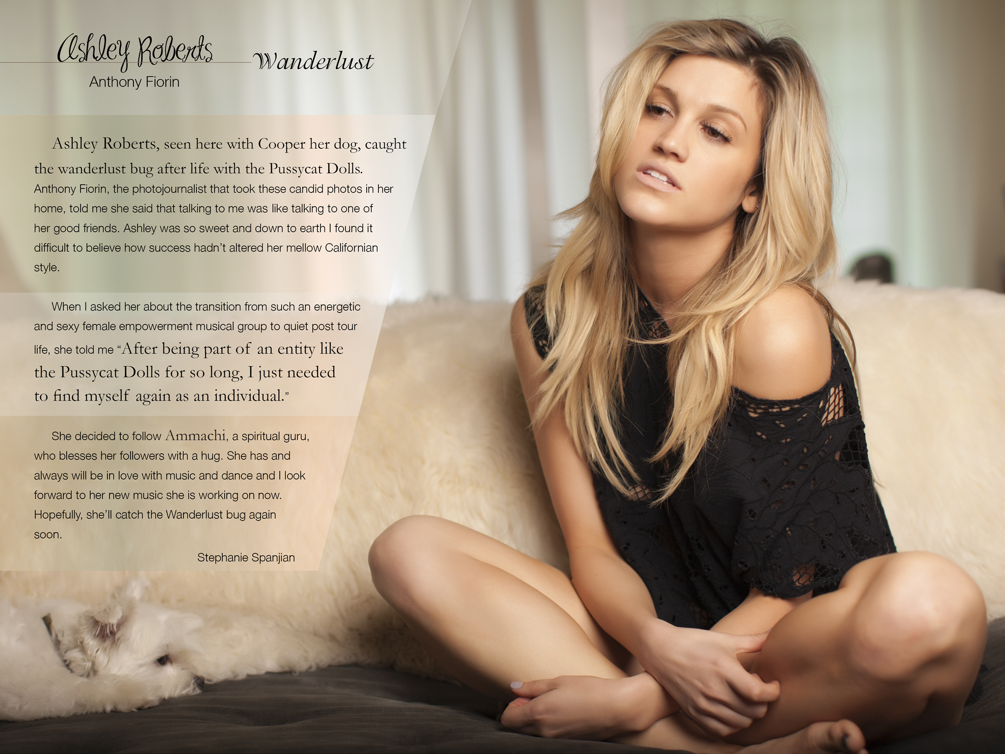 LAHM Issue 2 Anthony Fiorin Ashley Roberts iPad